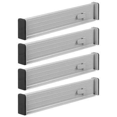 "mDesign Expandable Dresser Drawer Organizer/Divider, 2.5"" H"