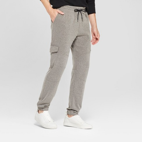 Men's Tapered Knit Cargo Jogger - Goodfellow & Co™ - image 1 of 3
