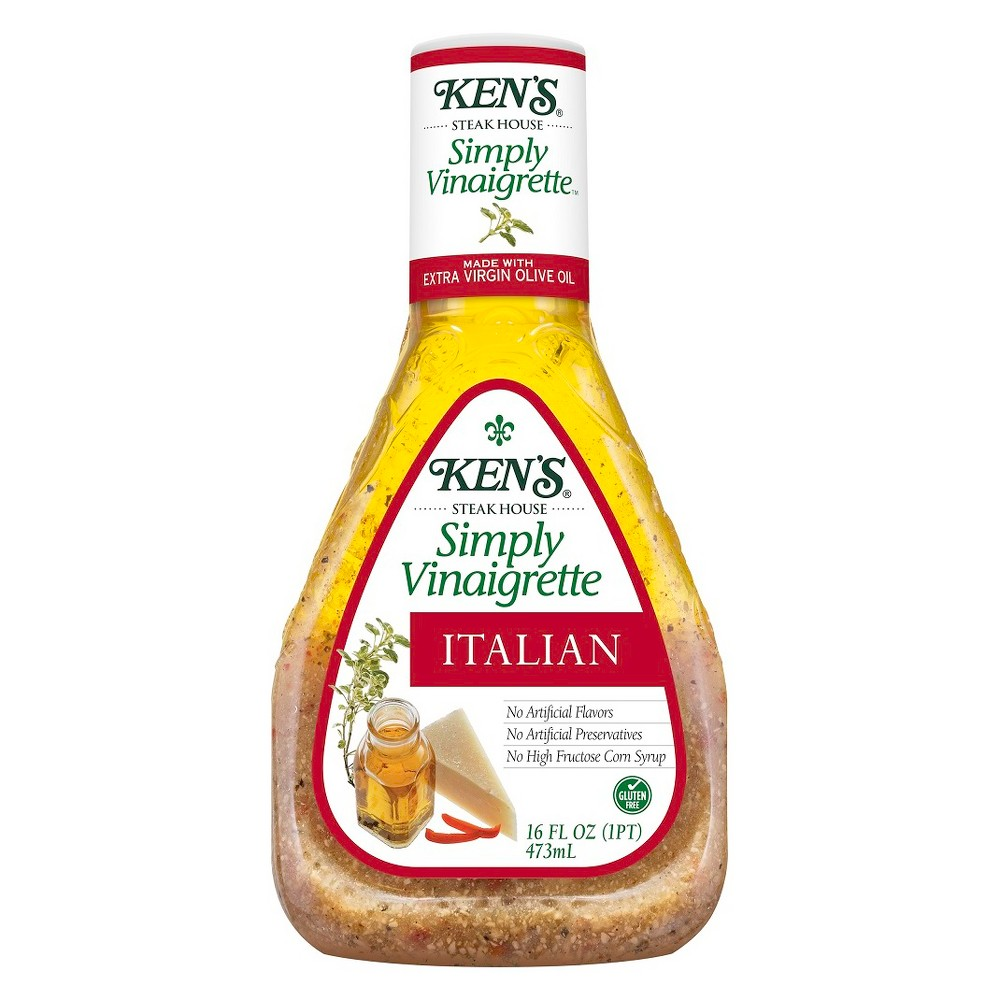 Ken's Simply Vinaigrette Italian Dressing - 16 fl oz