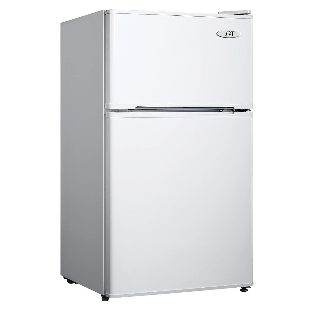 Sunpentown D3.1 cu.Ft Double Door Mini Refrigerator – White RF-314W 16854806