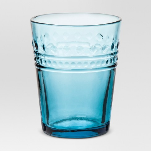 Juice Glass 8.1oz Vintage Blue - Threshold™ - image 1 of 1
