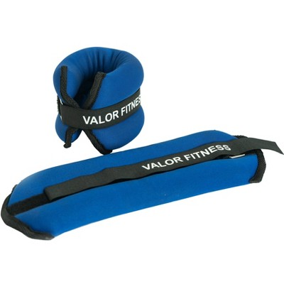 Valor Fitness EA-10 Ankle/Wrist Weight Pair - 4lbs