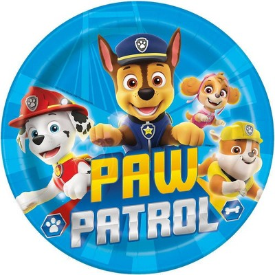 """PAW Patrol 9"""" 8ct Party Paper Plates"""