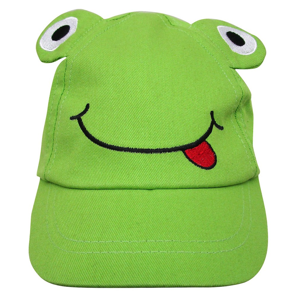 So Dorable Baby Boys' Frog Baseball Hat - Green 0-6 M, Size: 0-6M
