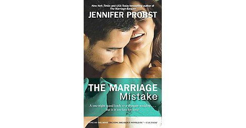 Marriage Mistake (Paperback) (Jennifer Probst) - image 1 of 1
