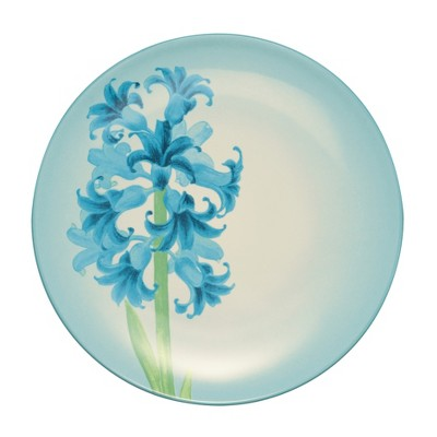 Noritake Colorwave Turquoise Hyacinth Floral Accent Plate