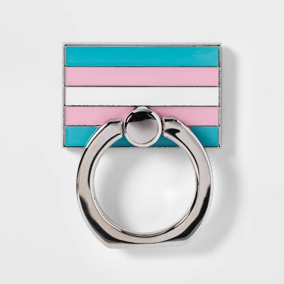 Inclusive Pride Flag Cell Phone Ring Holder & Stand - Pride