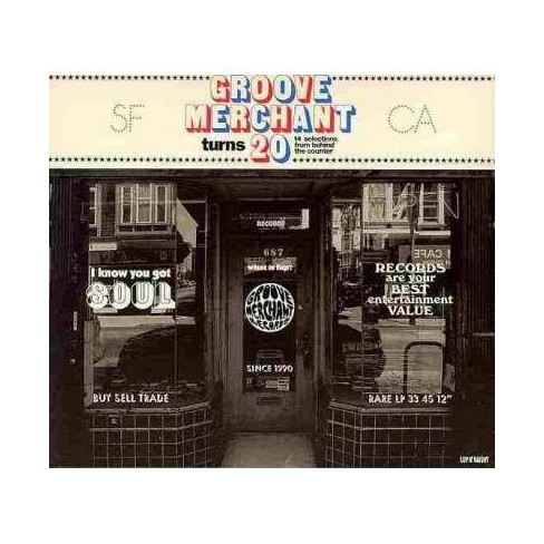 Various Artists - Groove Merchant Turns 20-14 Selections from Behind The Counter (CD) - image 1 of 1