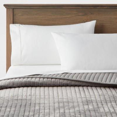Matte Velvet Solid Quilt - Threshold™