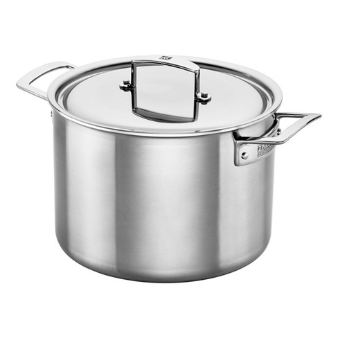 ZWILLING Aurora 5-Ply Stainless Steel 8-Qt. Stockpot - image 1 of 4