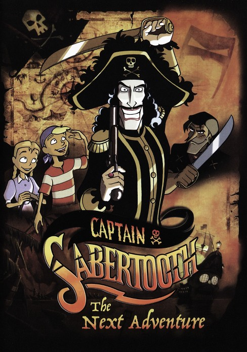 Captain sabertooth's next adventure (DVD) - image 1 of 1