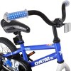 JOYSTAR Pluto Series 18-Inch Pre-Assembled Ride-On Kids Bike with Coaster Braking and Kickstand, Blue - image 4 of 4