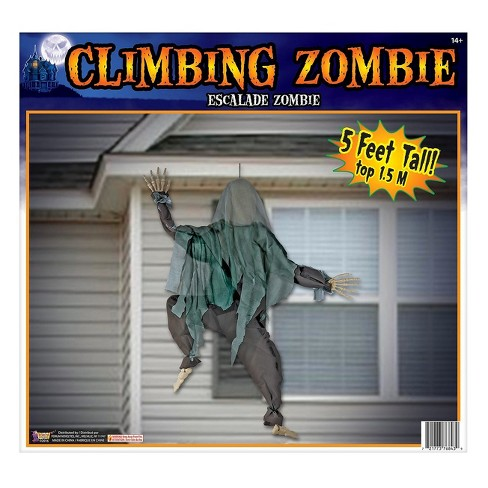 Halloween Wall Climbing Zombie Decoration - image 1 of 1