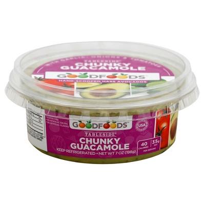 Good Foods Chunky Guacamole 7 oz