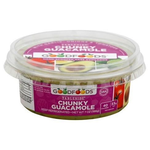 Good Foods Chunky Guacamole - 7oz - image 1 of 1