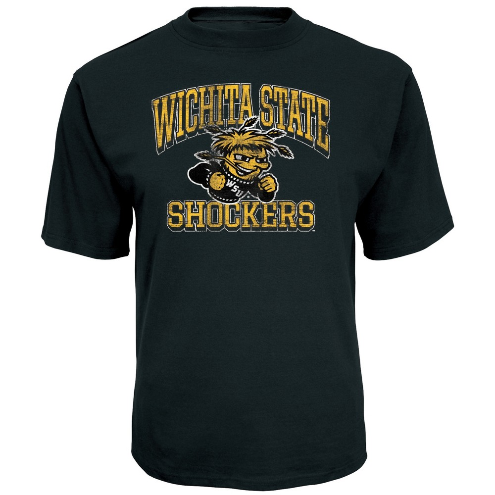 NCAA Men's Short Sleeve TC T-Shirt Wichita State Shockers - L, Multicolored