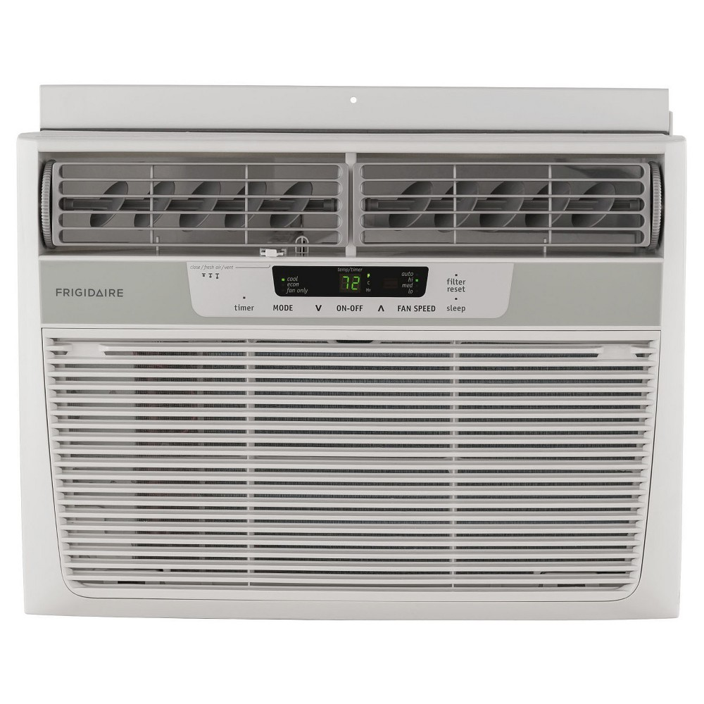 Frigidaire - 12000-Btu 115V Window-Mounted Compact Air Conditioner with Remote Control - White