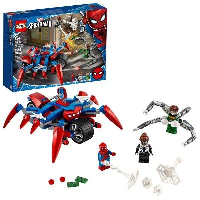LEGO Marvel Spider-Man: Spider-Man vs. Doc Ock Superhero Playset 76148