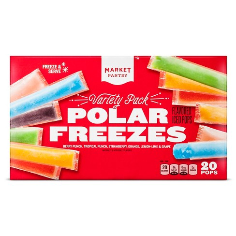 Assorted Flavored Ice Pops - 20ct - Market Pantry™ - image 1 of 1