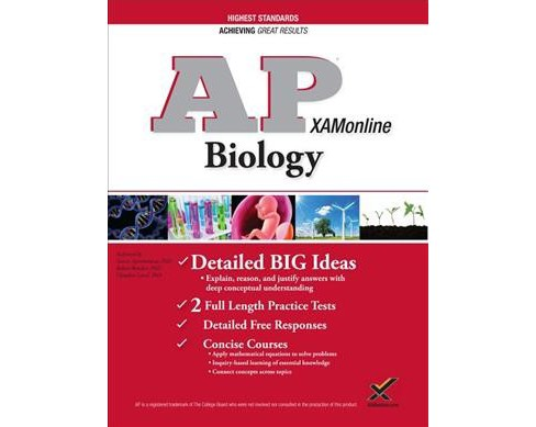 AP Biology (Paperback) (Ph.D. Tamar Aprahamian & Ph.D. Claudine Land) - image 1 of 1