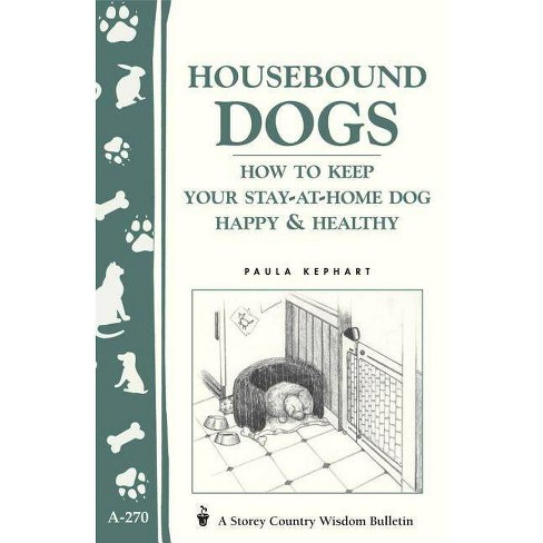Housebound Dogs: How to Keep Your Stay-At-Home Dog Happy & Healthy - (Storey Country Wisdom Bulletin) - image 1 of 1