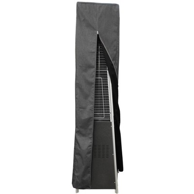Square Glass Tube Patio Heater Commercial Cover - Gray - AZ Patio Heaters