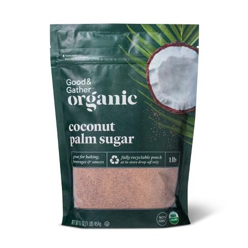 Organic Coconut Palm Sugar - 16oz - Good & Gather™ - image 1 of 2