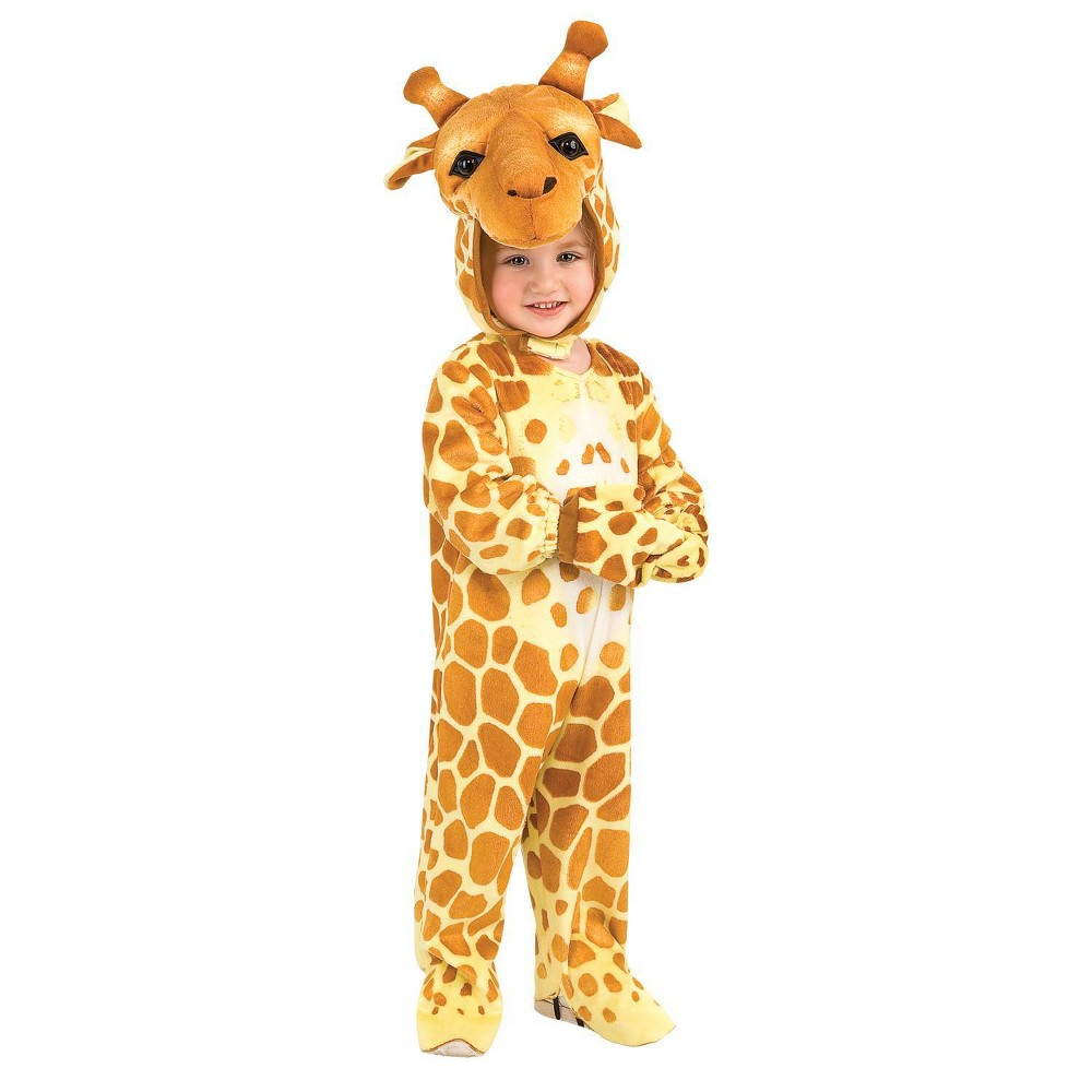 Image of Halloween Kids' Toddler Giraffe Costume Small, Adult Unisex, MultiColored