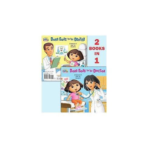 Dora Goes to the Doctor/Dora Goes to the Dentist (Paperback) by Ellen Rosebrough - image 1 of 1