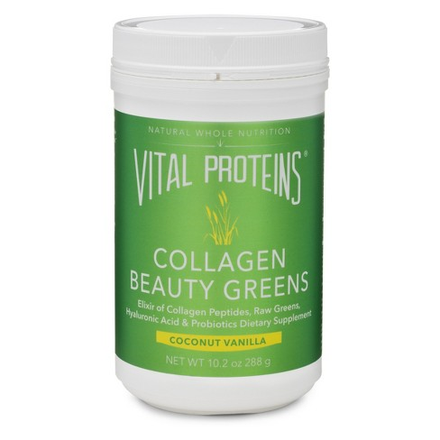 Vital Proteins Collagen Beauty Greens Powder - Coconut Vanilla Powder - 10.2oz - image 1 of 4