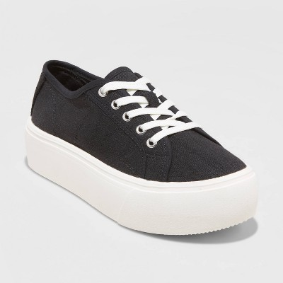 Women's Taryn Lace Up Sneakers - A New Day™