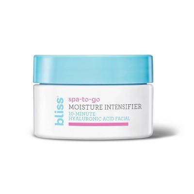 bliss Moisture Intensifier Hyaluronic Acid Facial - 0.5 fl oz