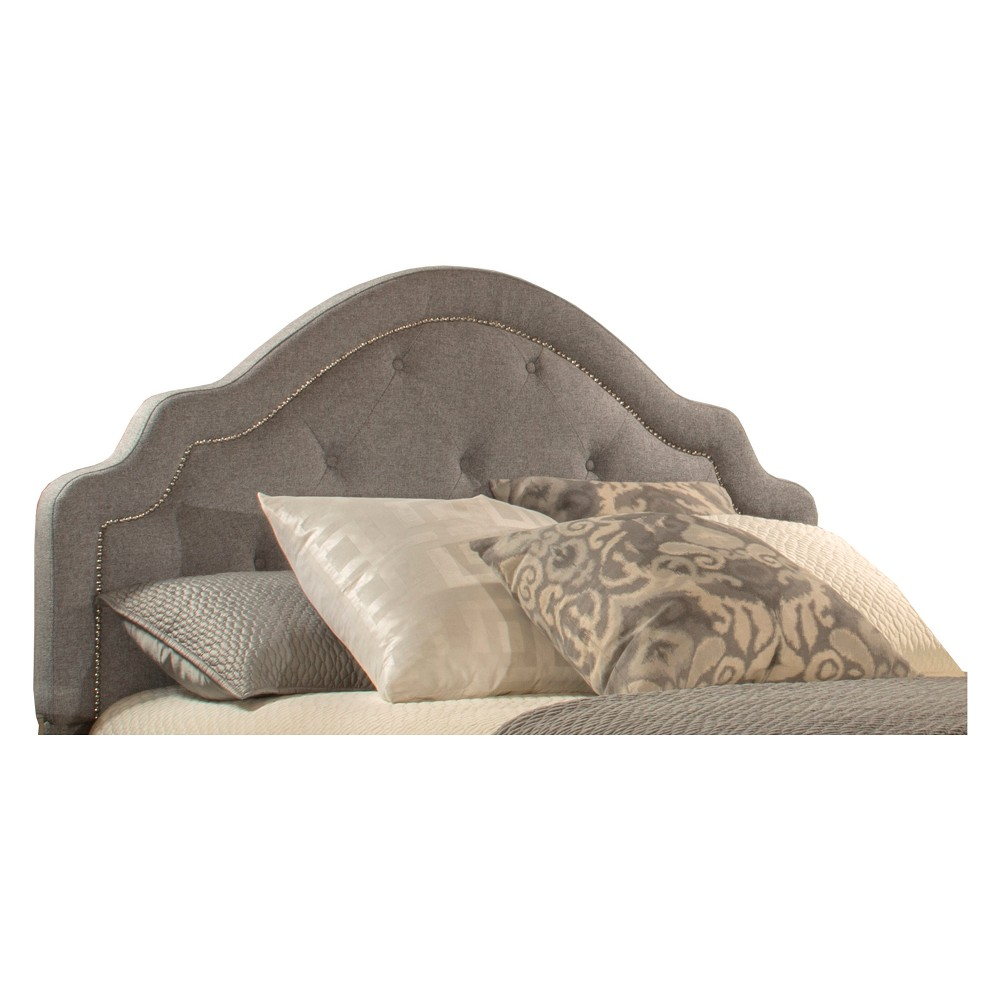 Belize Upholstered Headboard Queen Headboard Frame Included Light Gray - Hillsdale Furniture