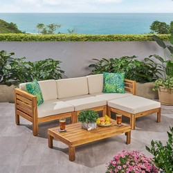 Cambridge 5pc Sofa Patio Seating Set - Christopher Knight Home