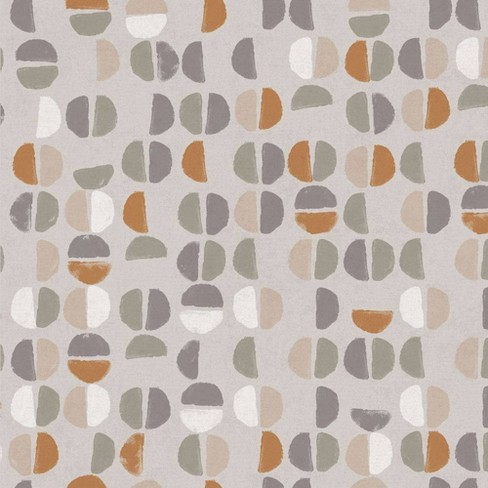 Tempaper Coffee Beans Sienna Self-Adhesive Removable ...