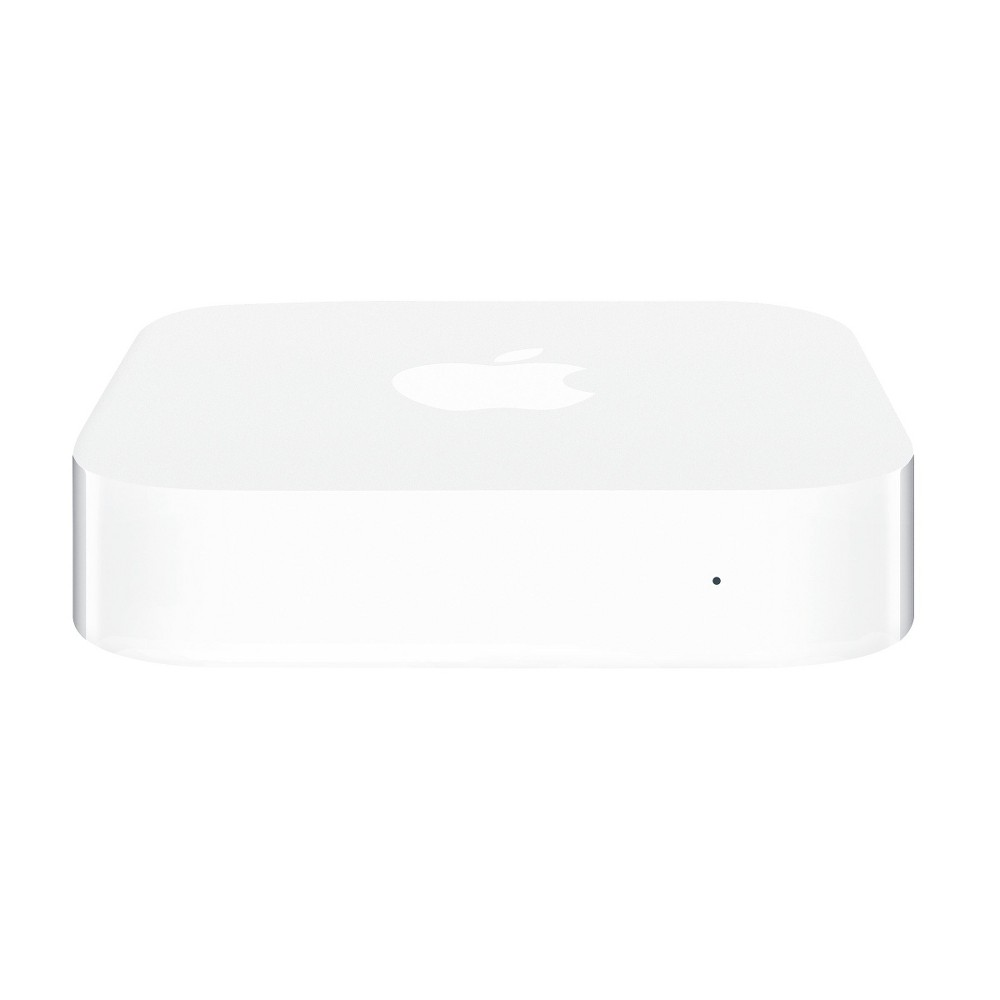 Apple AirPort Express, Modems and Routers The Apple AirPort Express Base Station in white is an affordable and easy way to set up and manage a safe, secure, home Wi-Fi network to your iPhone, iPad, iPod, Apple TV or Mac. This base station provides the fastest connections available for your Wi-Fi-enabled devices. AirPlay lets you wirelessly play your iTunes music on compatible stereo or speakers. You can also print wirelessly from any computer in your home.