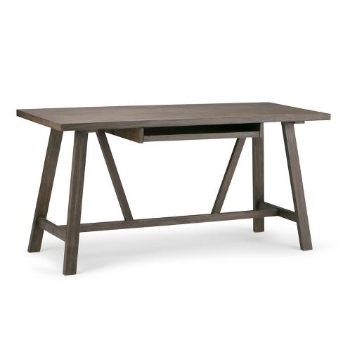 Stewart Solid Wood Desk - Wyndenhall - image 1 of 4