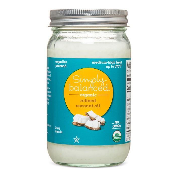 Refined Coconut Oil - 14oz - Simply Balanced™ - image 1 of 1