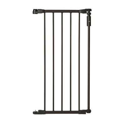 Toddleroo by North States 15 Inch Extension Piece for Deluxe Decor Gate, Bronze