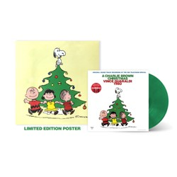 Vince Guaraldi Trio – Charlie Brown Christmas (Vinyl) (Target Exclusive Green Vinyl with Poster)