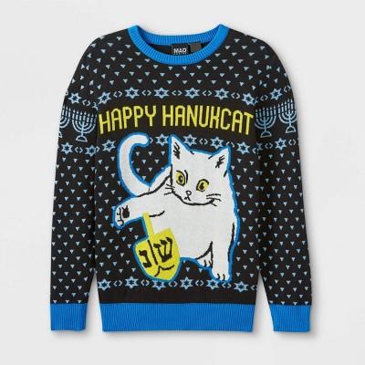 Boys' Hannukkah Pullover Sweater - Blue