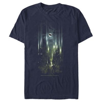Men's Batman Gotham City Signal T-Shirt