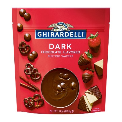 Ghirardelli Dark Chocolate Melting Wafers - 10oz