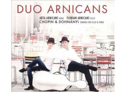 Arta arnicane - Chopin/Dohnanyi:Sons for cello & pian (CD) - image 1 of 1