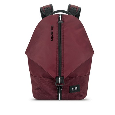 "Solo 17"" Peak Backpack - Burgundy"