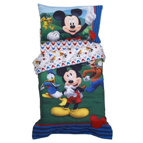 Mickey Mouse & Friends Mickey Mouse Toddler Bedding Set - image 1 of 4
