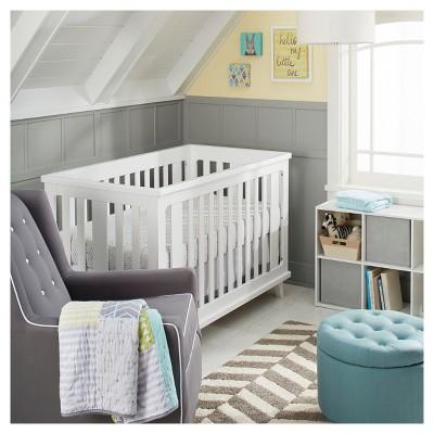 Geo Patchwork Nursery Room