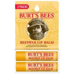 Burt's Bees Beeswax Lip Balm - 2ct