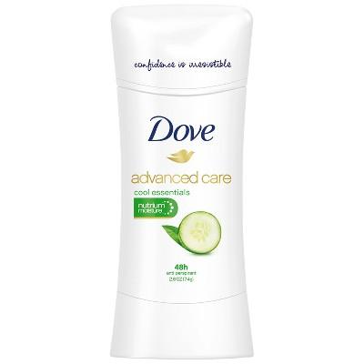 Dove Advanced Care Cool Essentials Antiperspirant Deodorant - 2.6oz