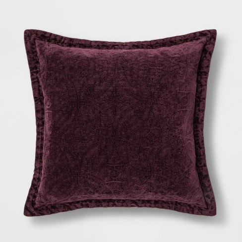 Chenille Round Diamante Filled Scatter Cushions Machine Washable